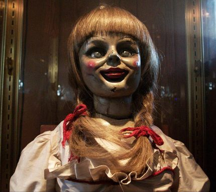 The conjuring doll, Just watched this movie, I nearly peed myself! Gonna watch it with my BESTIE tonight!