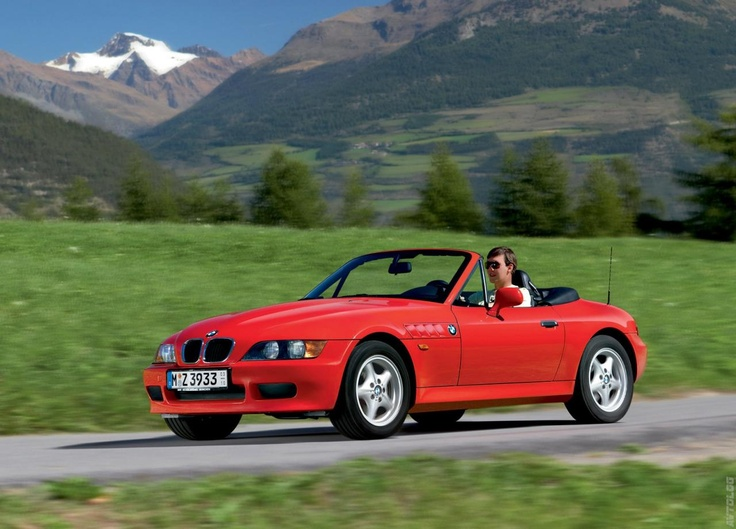 1996 BMW Z3 - I love my little red car.