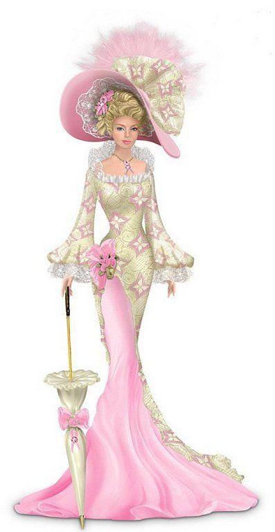 """""""Beauty Laced With Hope"""" Figurine-Thomas Kinkade"""