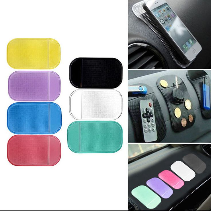 Car Dashboard Sticky Pad Mat Anti Slide Non Slip Gadget Mobile Phone GPS Holder in Cell Phones & Accessories, Cell Phone Accessories, Mounts & Holders | eBay