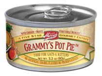 Review and a rating for Merricks Grammy's Pot Pie wet food. Find out the ingredients used in this formula and if these ingredients are of good quality for your cat.
