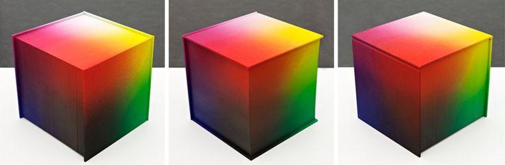 tauba auerbach: RGB colorspace atlas