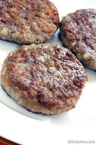 You won't find any nitrates or artificial ingredients in this sausage recipe, only lean ground turkey and plenty of spices.
