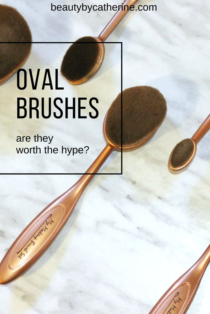 Are Oval Brushes Worth the Hype? // Beauty by Catherine