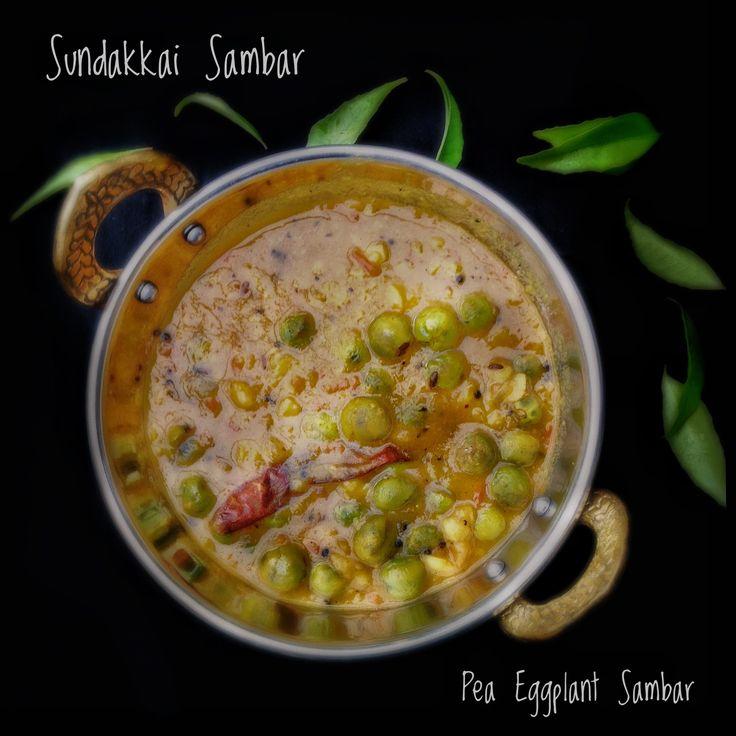 Sundakkai Sambar | Fresh Turkey Berry Sambar