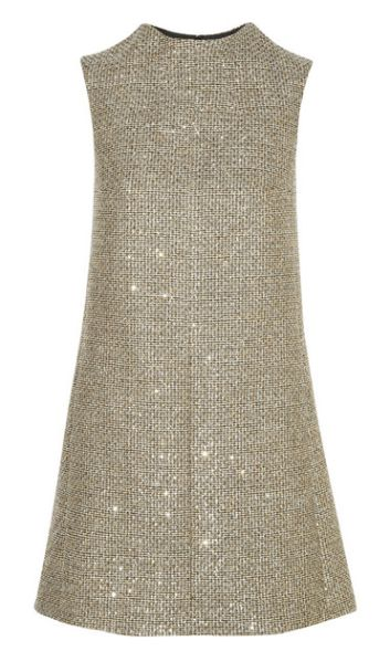 A Saint Laurent dress dress from the label's #aw2014 collection. #saintlaurent #frenchstyle #60s
