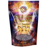 Earth Circle Organics, Органические балийские ядра какао-бобов, 8 унций (227 г)