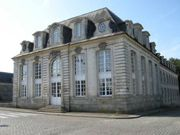 Archives municipales de Lorient L'aile ouest de l'Hôtel Gabriel