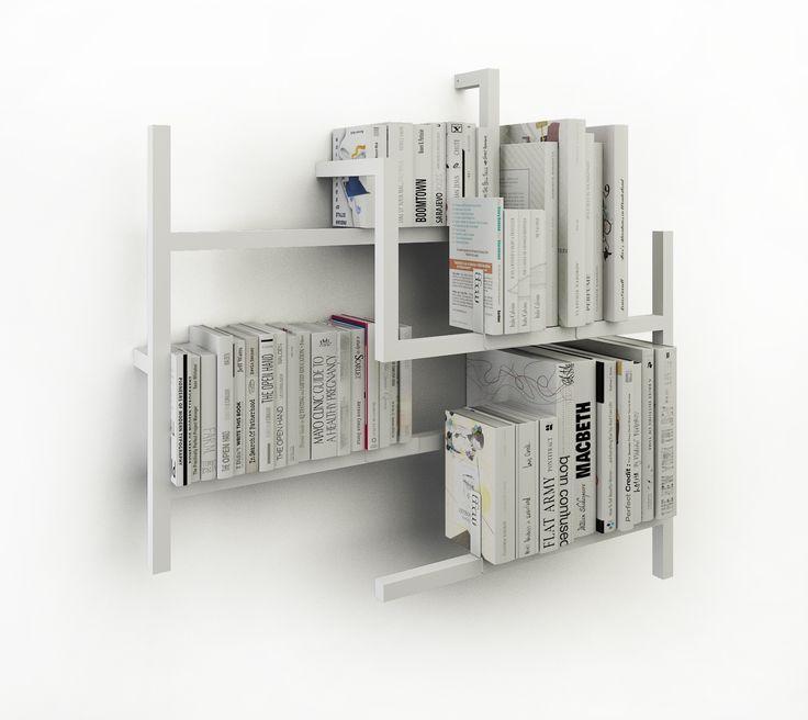 Libreria A Colonna Metallo Joker Cattelan : Oltre fantastiche idee su libreria in metallo