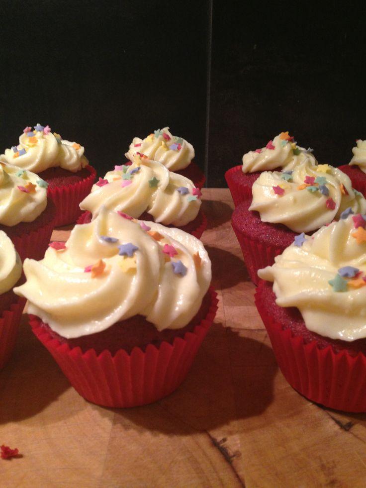 Birthday cupcakes :)
