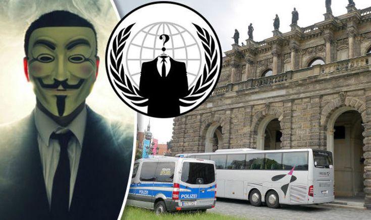 Anonymous hacks 'Illuminati' placing warning on mysterious Bilderberg Group website