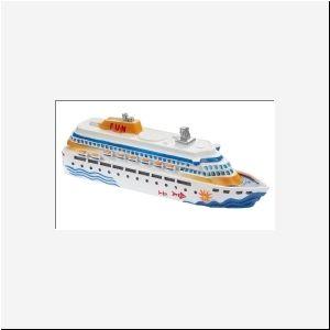 Kreuzfahrtschiff ca. 12 cm von A-Z-Bastelshop via dawanda.com