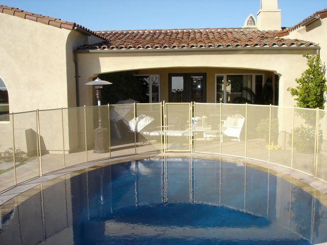 removable pool fence 28