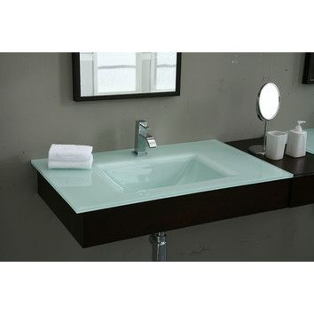 Sink On Top Of Vanity. Xylem 31  Vanity Top with Square Bowl 73 best Bathroom Ideas images on Pinterest Bath