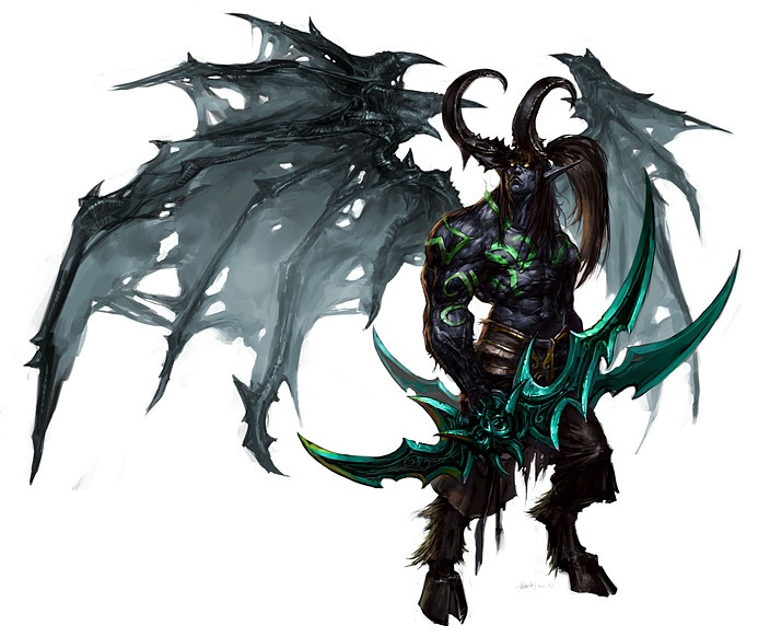 Illidan Stormrage, the Betrayer, Lord of Outland, Ruler of the Naga, the Demon Hunter, the Lord Of Shadows