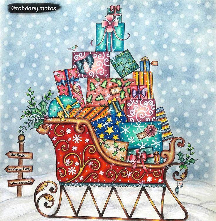 "🎨Maratona ""As Cores do Natal"" 🌟By @robdany.matos #artecomoterapia #beautifulcoloring #boracolorirtop #colorindolivrostop #colorindoterapia #coloring_secrets #desenhoscolorir #fangcolourfulworld #jardimsecretofans #jardineirasdelaço #johanna_basford #magicaljunglebooks #majesticcoloring #adultcoloringforum #papelcomcor #prazeremcolorir #selvamagicaoficial #topcoloridos #jardimsecreto #johannabasford #secretgarden #bayan_boyan #wonderfulcoloring #johannabasford_repost #johannaschristmas"