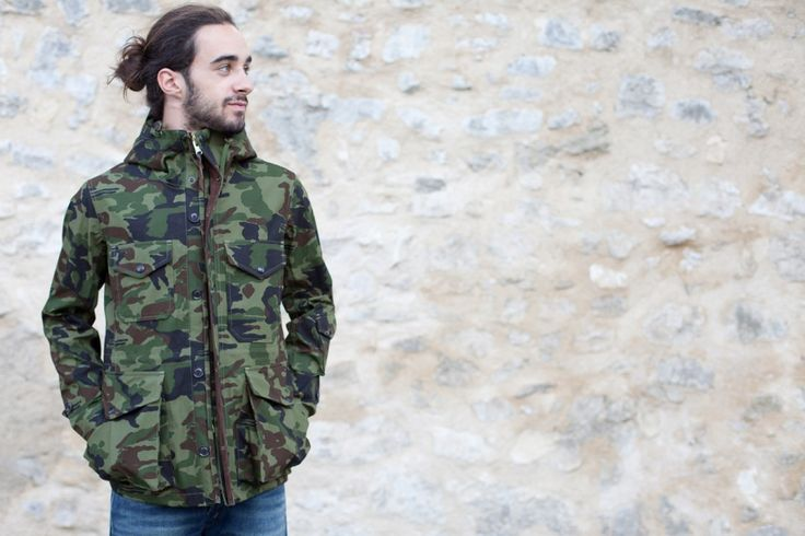 Nanamica---Cruiser Jacket---Camouflage - Nanamica - Designers