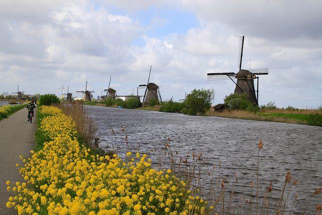 Kinderdijk, South Holland 060 by Henk Bekker, via Flickr