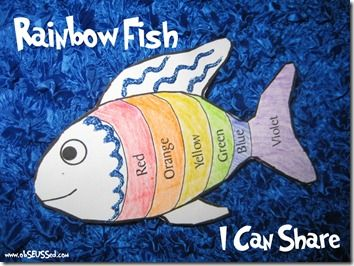 1000+ images about Rainbow fish on Pinterest | Watercolor fish ...