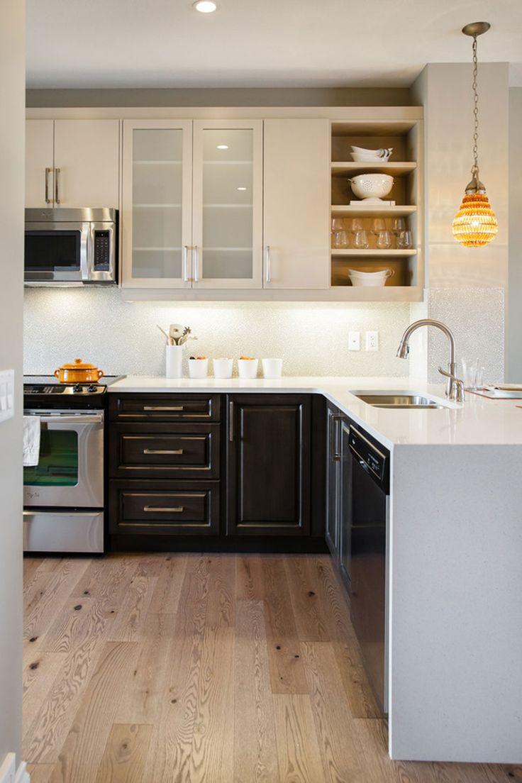 Al al alno kitchen cabinets chicago - Two tone kitchen cabinets a concept still in trend