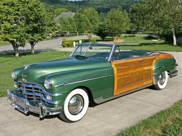 1949 Chrysler Town And Country For Sale In Cookeville Nc Collector Car Nation Classifieds Chrysler Town And