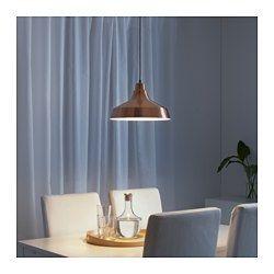 VINDKÅRE Taklampa, kopparfärgad - IKEA