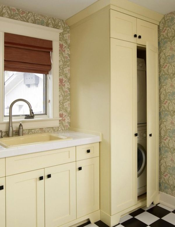 Find This Pin And More On Laundry Bathroom Combo Laundry Room Stacked Washer And Dryer Ideas