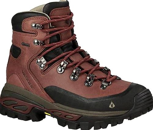 Vasque Shoes - Built with a sense of adventure and discovery, this expedition-worthy trekking boot delivers quality, comfort, and performance for backcountry travel. A composite three-part midsole supplies excellent underfoot cushioning with a solid chassis for stability on the trail. - #vasqueshoes #redshoes