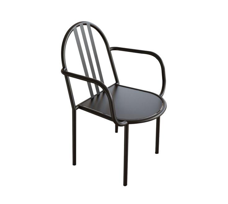 Chaise avec accoudoir via Goodmoods