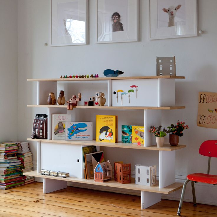 Superior The Oeuf Mini Library Has A Fun Design That Children Will Love With Easy To