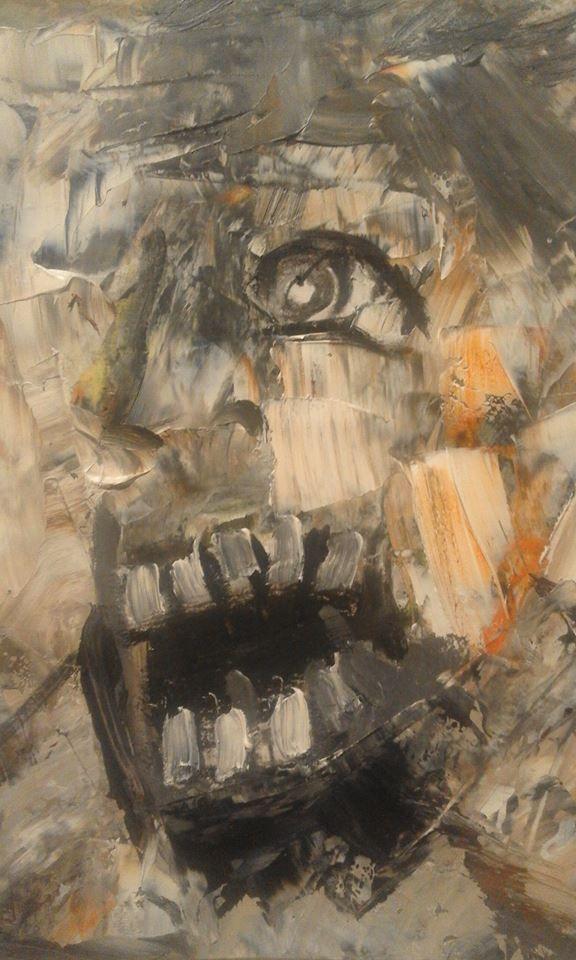 Ruth Clotworthy, Oil On Canvas 2016
