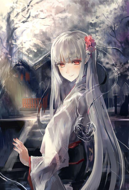 MINAKO HAYASHIDA~Yuki-Onna/Ghoul Hybrid