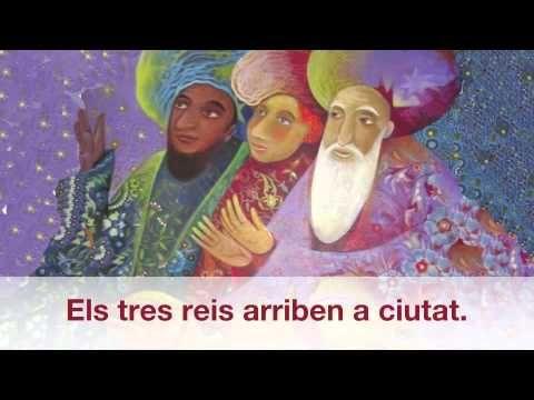 ▶ Els tres reis arriben a ciutat. - YouTube