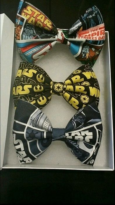 Star Wars Hair Bow Set | #StarWars