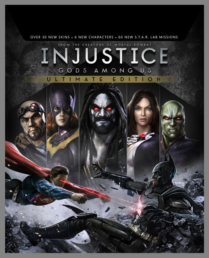 Warner Bros. Interactive Entertainment Announces Injustice: Gods Among Us Ultimate Edition for PlayStation 4, PlayStation Vita, PlayStation 3, Xbox 360 and PC !