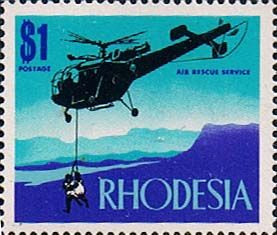 Rhodesia 1970 Air Rescue SG 451 Fine Mint Scott 292 Other Rhodesian Stamps HERE