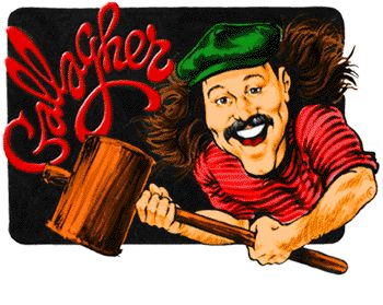 Gallagher was one of the most popular and recognizable American comedians during the 1980s~ Still remember being sprayed with watermelon!