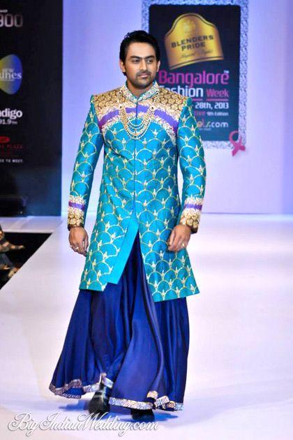 Sagar Tenali at Bangalore Fashion Week 2013