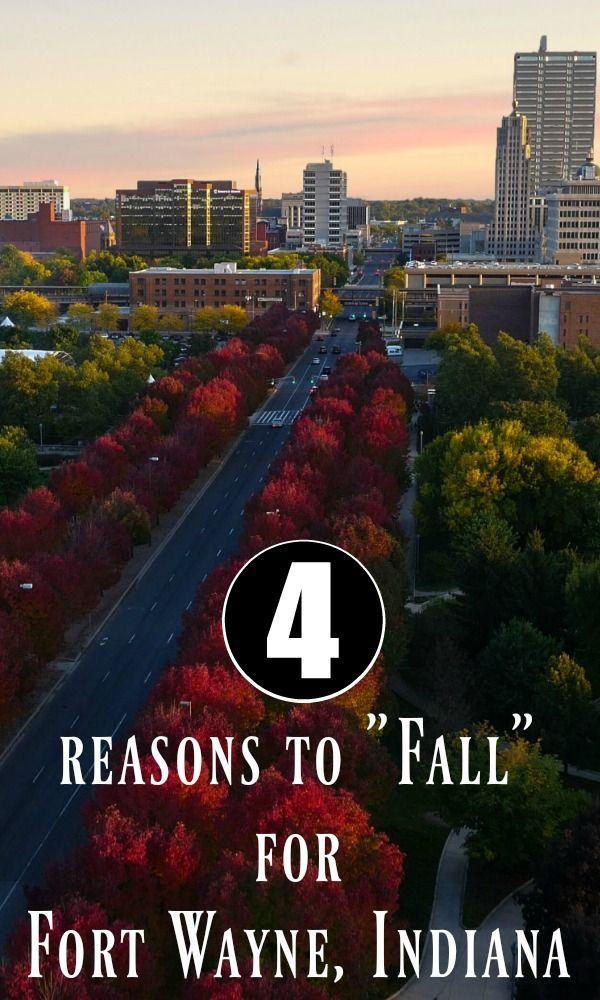 Looking for some Midwest autumn fun? Here's four reasons to fall for Fort Wayne, Indiana!