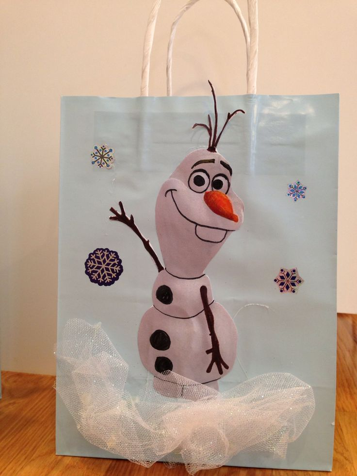 25 best ideas about frozen goody bags on