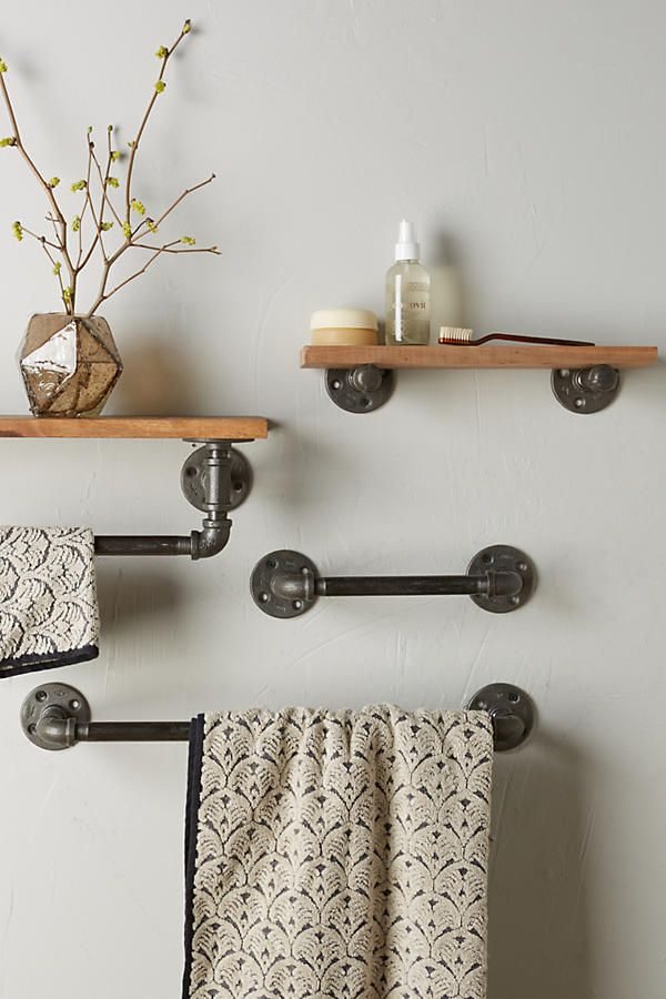 25 best ideas about towel racks on pinterest small bathroom decorating bath rack and small. Black Bedroom Furniture Sets. Home Design Ideas