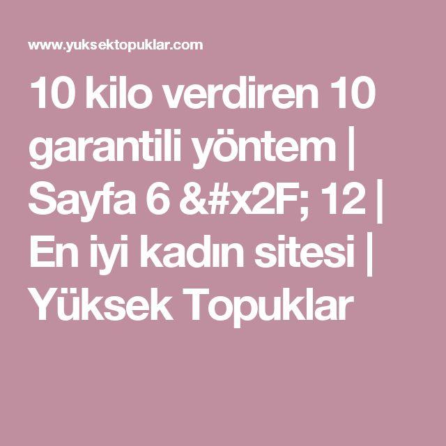 10 kilo verdiren 10 garantili yöntem   Sayfa 6 / 12   En iyi kadın sitesi   Yüksek Topuklar