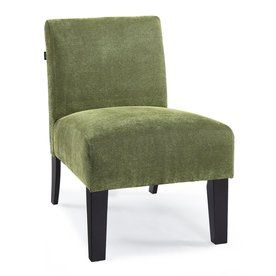 Dhi Deco Green Polyester Accent Chair Ac De Lc023 8d