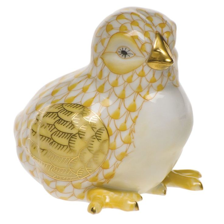 Herend Baby Chick Butterscotch $285.00