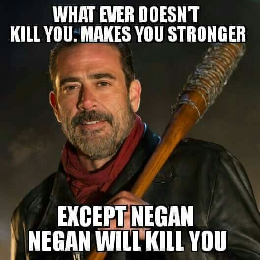 Negan, Jeffrey Dean Morgan
