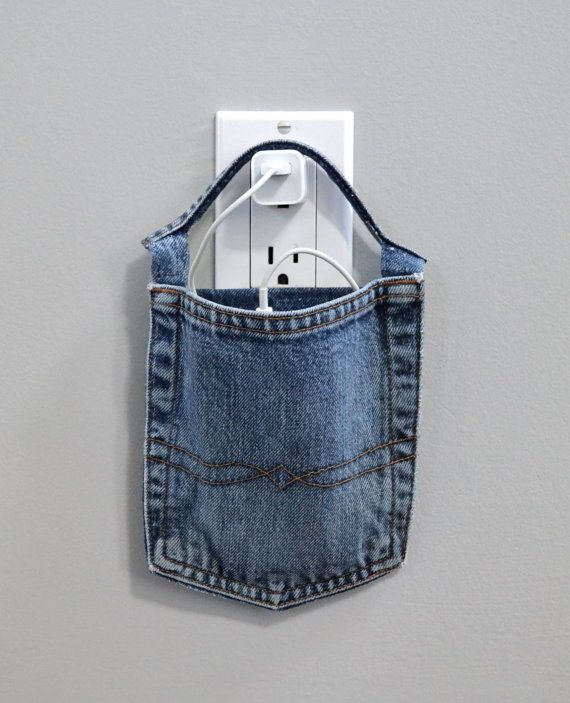 Cell phone docking station,  Lucky Brand Jeans pocket charger for iPhone, iPod…