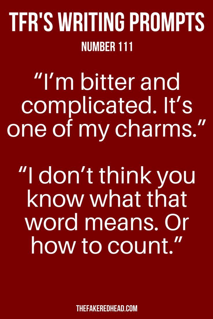 Prompt   Dialogue   Writing   Inspiration   Read   Starter   Conversation   TFR's Writing Prompts   Number 111   Novel   Story   Writers Corner