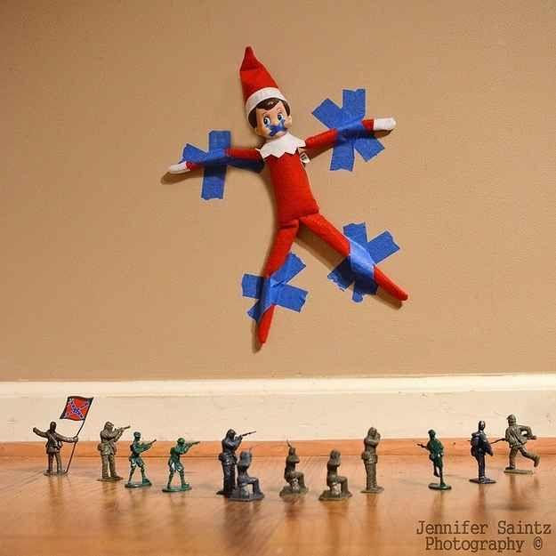 33 Genius Elf On The Shelf Ideas