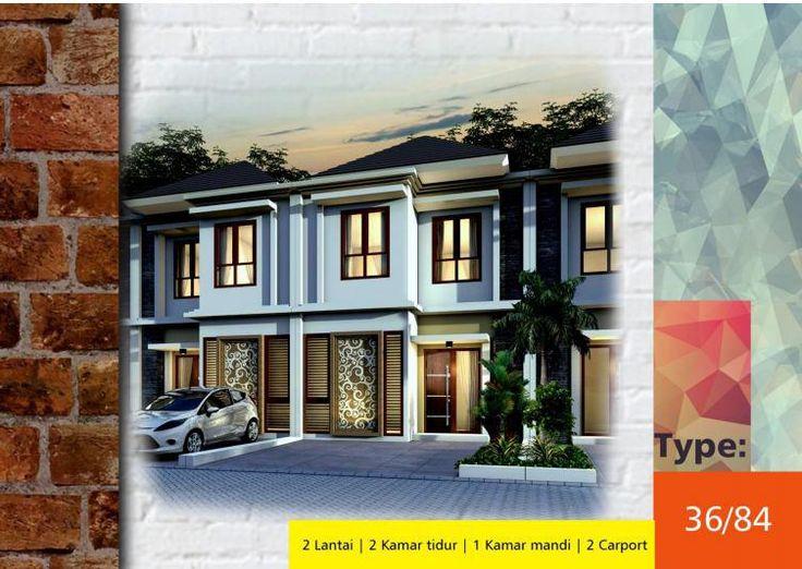 #Algira #Townhouse 1 #Kota #Bogor #Desain Type 36/84 #rumahdijual #rumahmewah #property #propertysyariah #realestate bit.ly/ATH123