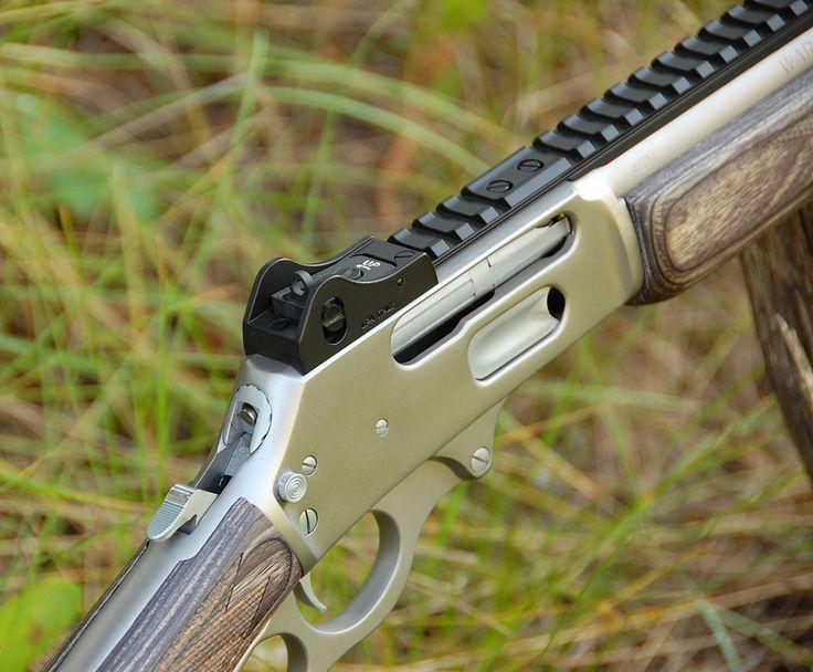 Grizzly Custom Guns Marlin 1895SBL .45-70 Ghost Ring Picatinny Rail Tritium 6